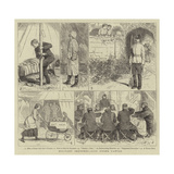 Military Sketches, Life under Canvas Giclee Print by Alfred Chantrey Corbould