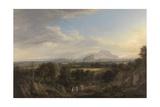 A View of Edinburgh from the West, C.1822-26 Giclee Print by Alexander Nasmyth