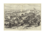 The War, the Evacuation of Alexinatz Giclee Print by Alfred William Hunt