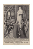 Unveiling the Statue of Mr Gladstone in the Central Lobby of the Houses of Parliament Giclee Print by Alexander Stuart Boyd