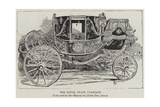 The Royal State Carriage Giclee Print by Alfred Chantrey Corbould
