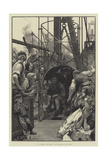 A Colliery Explosion, Volunteers to the Rescue Giclee Print by Alfred Edward Emslie
