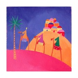 Kings on Camels, 2001 Giclee Print by Alex Smith-Burnett