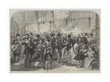 Shilling Day at the International Exhibition Giclee Print by Alfred William Hunt