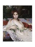 Albayde, 1848 Giclee Print by Alexandre Cabanel