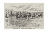 Start for the Jubilee Stakes, One Mile Flat Giclee Print by Alfred Chantrey Corbould