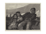 The First Voyage Giclee Print by Alfred Edward Emslie