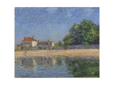 Bords Du Loing, Saint-Mammes, 1885 Giclee Print by Alfred Sisley