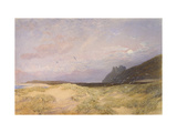 Harlech, 1862 Giclee Print by Alfred William Hunt