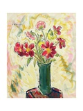 Flowers in a Green Vase, 1928 Giclee Print by Alfred Henry Maurer