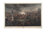 The Battle of Waterloo, 1819 Giclee Print by Aleksandr Ivanovic Zauervejd'