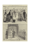 Prison Life in England, Part IV Giclee Print by Alfred Chantrey Corbould