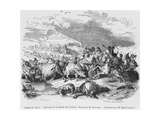 The Defeat of the Cimbri Giclee Print by Alexandre Gabriel Decamps