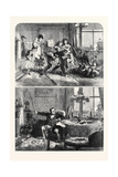 Christmas Time First and Second Floors, 1867 Giclee Print by Alfred William Hunt