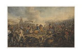 The Battle of Waterloo, after the Order for the Advance of the British Army, 1815, C.1815 Giclee Print by Alexander Ivanovich Sauerweid