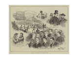 Football Association Cup, Final Tie Giclee Print by Alfred Gish Bryan