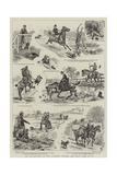 The Adventures of Two Runaway Horses, and What Came of It Giclee Print by Alfred Chantrey Corbould