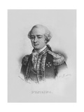 Charles Hector, Comte D'Estaing Giclee Print by Alfred Leon Lemercier