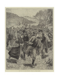 The Irish Land League Agitation, Attack on a Process Server Giclee Print by Aloysius O'Kelly