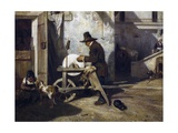 The Grinder, Ca 1840 Giclee Print by Alexandre Gabriel Decamps