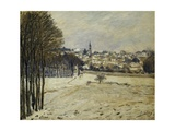 The Snow at Marly-Le-Roi, 1875 Giclee Print by Alfred Sisley