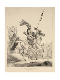 A Chief of the Kurds, 1824 Giclee Print by Alexander Orlowski