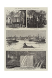 The American Centennial Exhibition Giclee Print by Alfred Chantrey Corbould