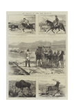 An Artist in the Far West, II Giclee Print by Alfred Chantrey Corbould