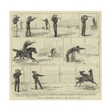 Dr W F Carver's Rifle-Shooting Feats at the Crystal Palace Giclee Print by Alfred Chantrey Corbould