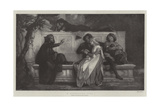 A Florentine Poet Giclee Print by Alexandre Cabanel