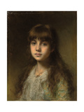 The Young Model Giclee Print by Alexei Alexevich Harlamoff