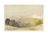 Durham from the Red Hills, 1880-86 Giclee Print by Alfred William Hunt