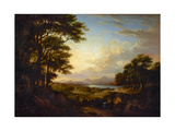 Distant View of Stirling, 1827 Giclee Print by Alexander Nasmyth