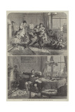 Christmas Time, First and Second Floors Giclee Print by Alfred William Hunt