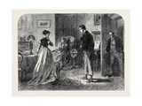 Stewart Hunt's Introduction to Miss Jones, 1867 Giclee Print by Alfred William Hunt