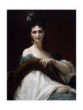 Portrait of Countess Keller, 1873 Giclee Print by Alexandre Cabanel