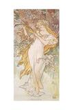 Spring; Printemps, C.1896 Giclee Print by Alphonse Mucha