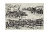 Scotchmen in the Colonies, the Queensland Scottish Rifle Volunteers Giclee Print by Alfred Chantrey Corbould