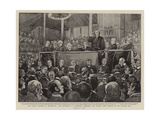 The Church Congress at Nottingham Giclee Print by Alexander Stuart Boyd