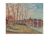 View of Moret, 1889 Giclee Print by Alfred Sisley