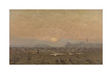 Sunrise in the Kempen Giclee Print by Alphonse Asselbergs