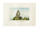 View of a Peak on the Island of Bora Bora Giclee Print by Ambroise Tardieu