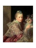 The Artist's Wife: Margaret Lindsay of Evelick, 1754-55 Giclee Print by Allan Ramsay
