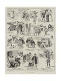 A Golf Story Giclee Print by Alexander Stuart Boyd