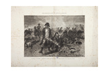 The Burial of the Flag, Episode of the Battle of Waterloo, Engraved by Jules Claretie Giclee Print by Alphonse Marie de Neuville