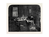 The First Christmas from Home Giclee Print by Alfred William Hunt
