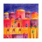 Bethlehem by Starlight, 2001 Giclee Print by Alex Smith-Burnett