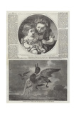The British Institution Giclee Print by Alfred Chantrey Corbould