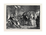 Flora Macdonald Introduced to Prince Charles Edward, after the Battle of Culloden Giclee Print by Alexander Johnston