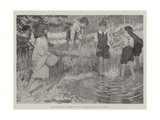 Being Beavers Giclee Print by Arthur Herbert Buckland